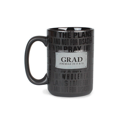 Graduation Mug: Badge of Faith Series by LCP Gifts