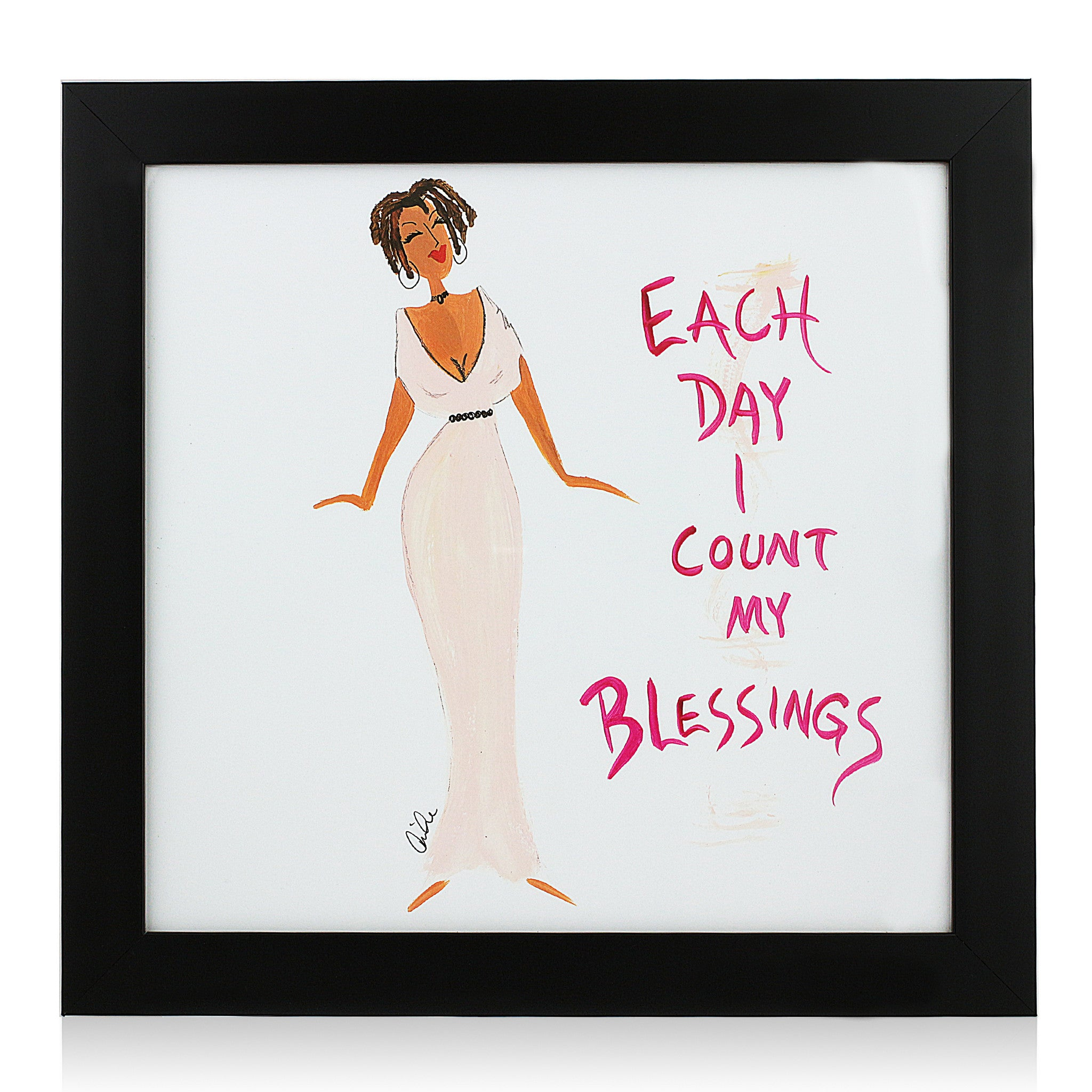Each Day I Count My Blessings by Cidne Wallace