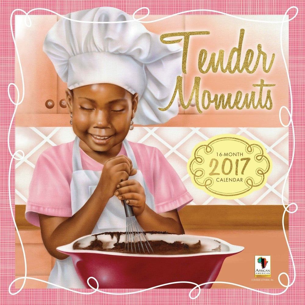 Tender Moments: The Art of Lonnie Ollivierre (2017 African American Wall Calendar)