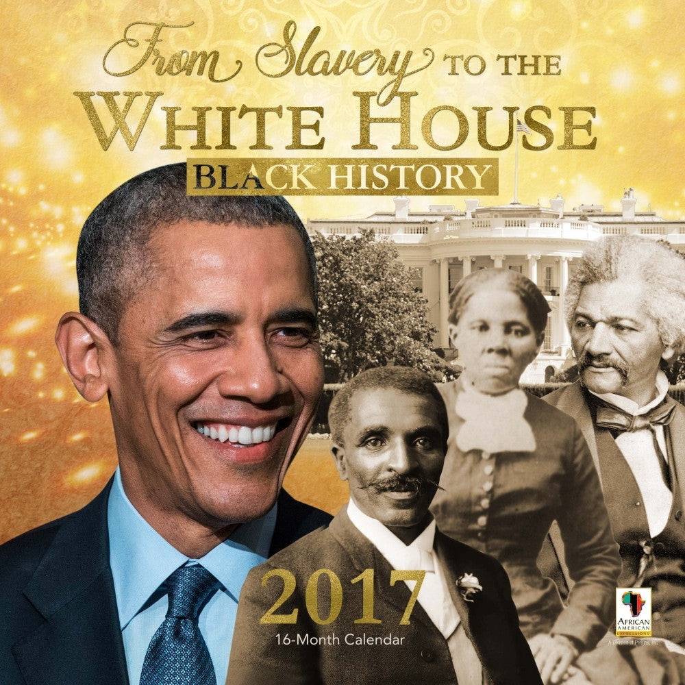 Black History: 2017 African American Wall Calendar (Front)