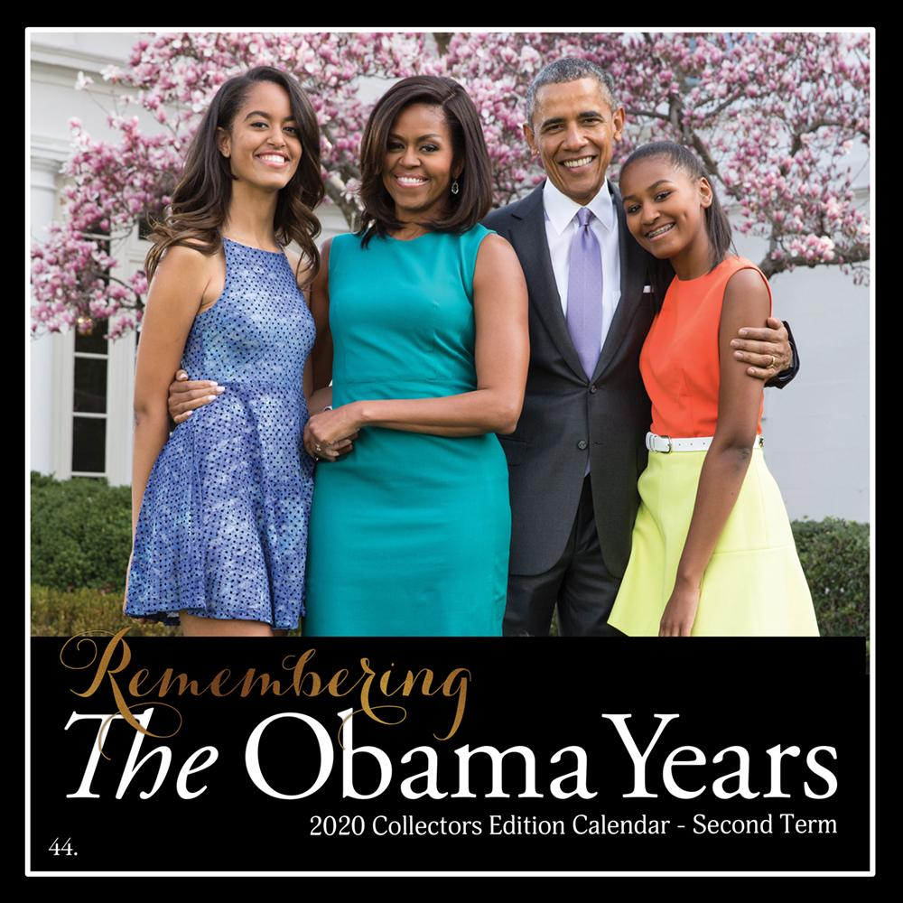 The Obama Years: 2020 African American History Calendar (Front)