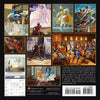 The Art of Ernie Barnes: 2021 African American Calendar (Back)