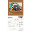 Family Traditions: Lavarne Ross 2021 Black Art Calendar (Interior)