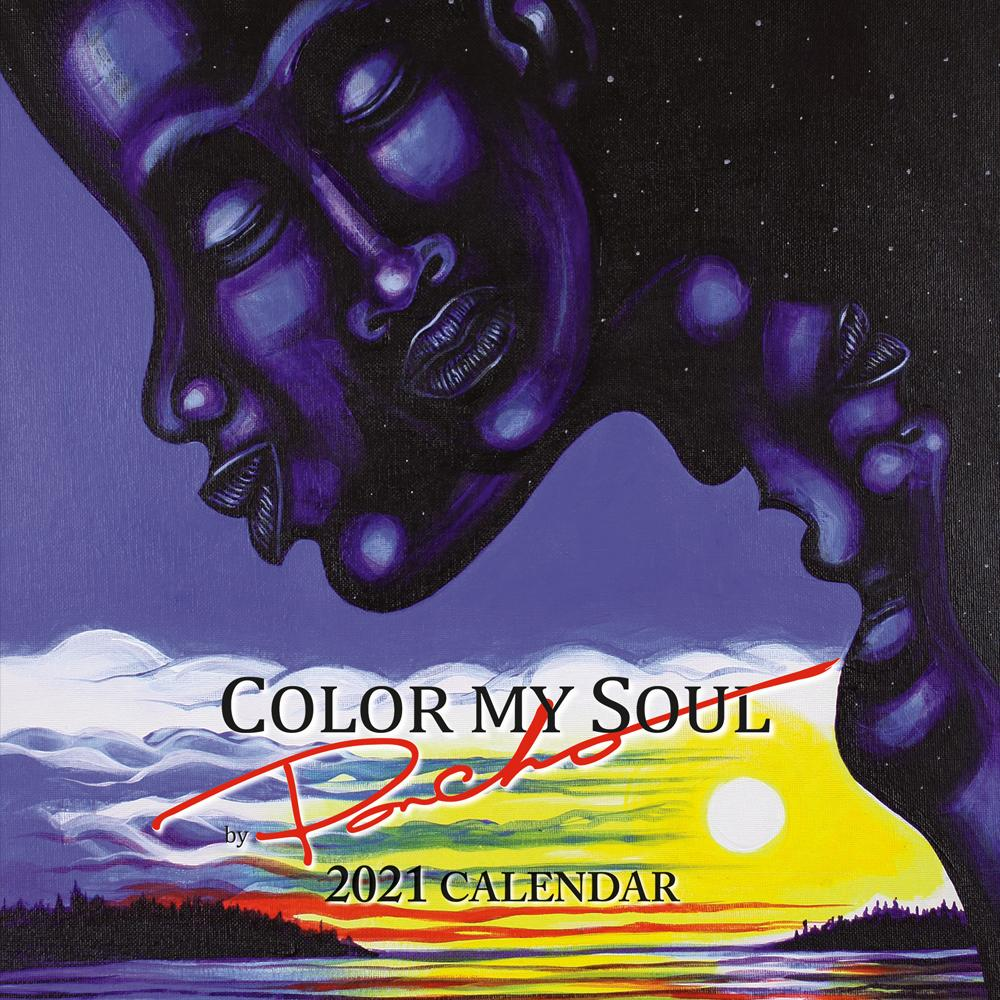 "Color My Soul: Larry ""Poncho"" Brown 2021 Black Art Calendar"