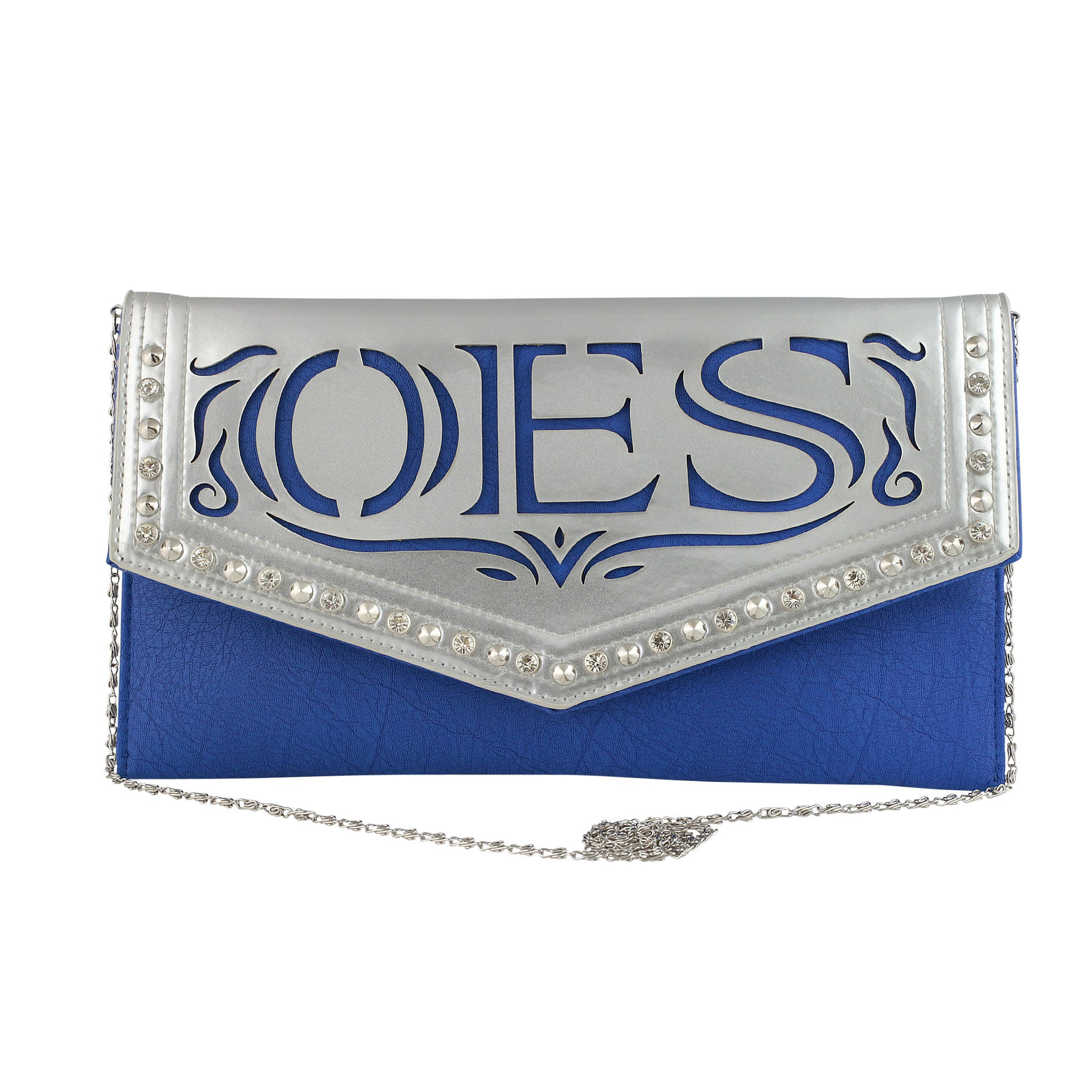 Order of the Eastern Star Faux Leather Envelope Clutch