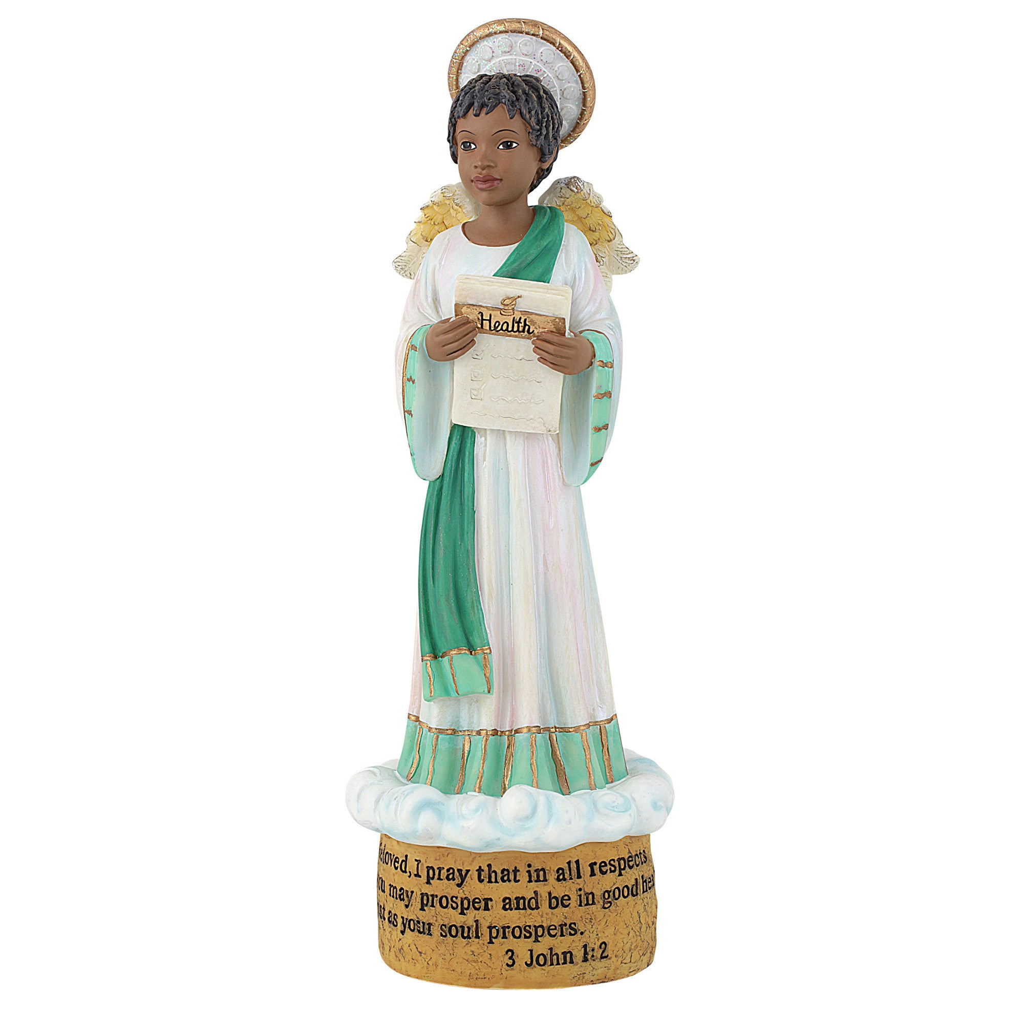 Health Angel: Blessings Unto You Figurine Collection
