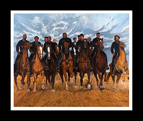 Freedom Riders by Kolongi Brathwaite (Black Frame)