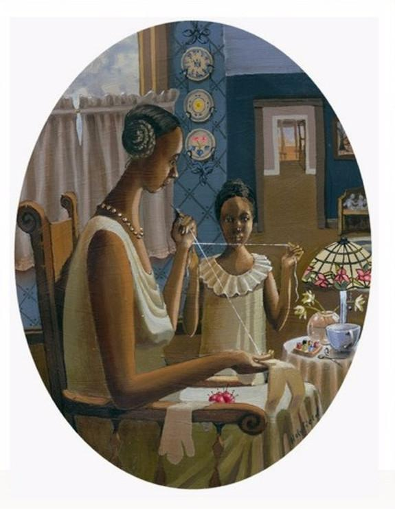 Doll Maker by John Holyfield (Art Print)