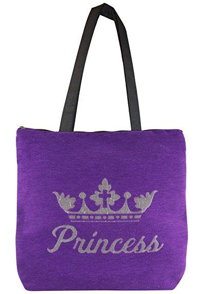 Princess: African American Woven Tapestry Tote Bag
