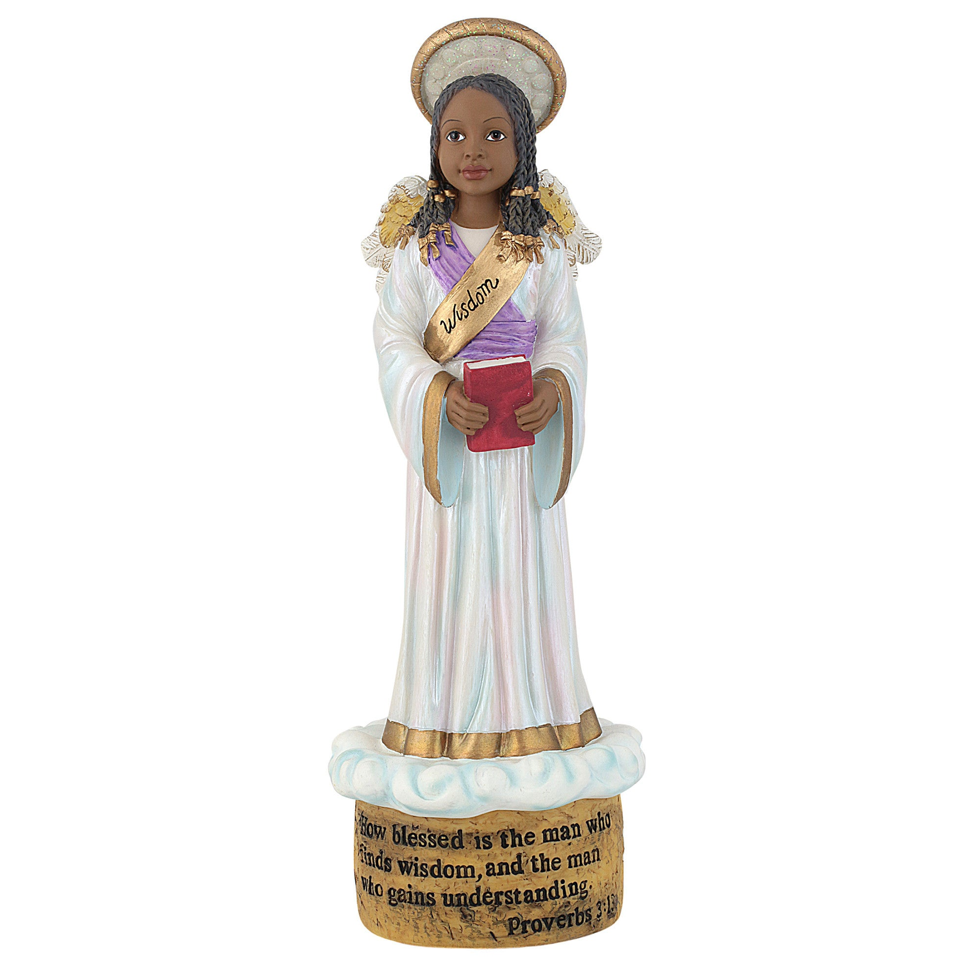 Wisdom Angel: Blessings Unto You Figurine Collection