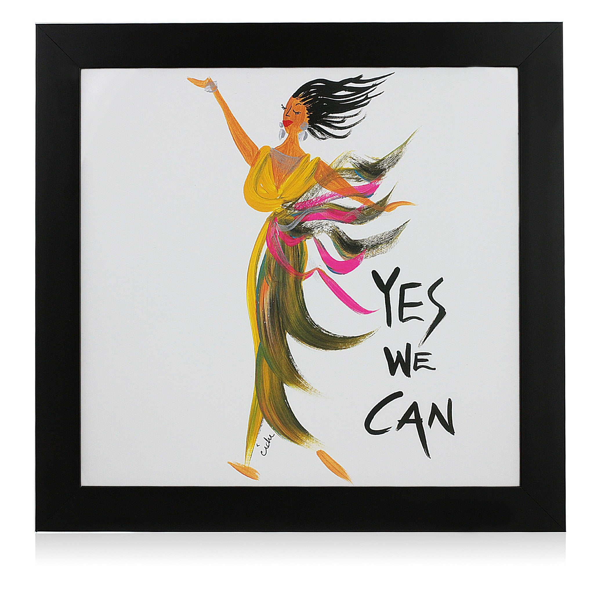 Yes We Can by Cidne Wallace