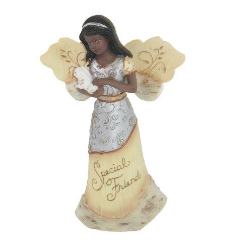 African American Special Friend Angel: Elements Collection by Pavilion Gifts