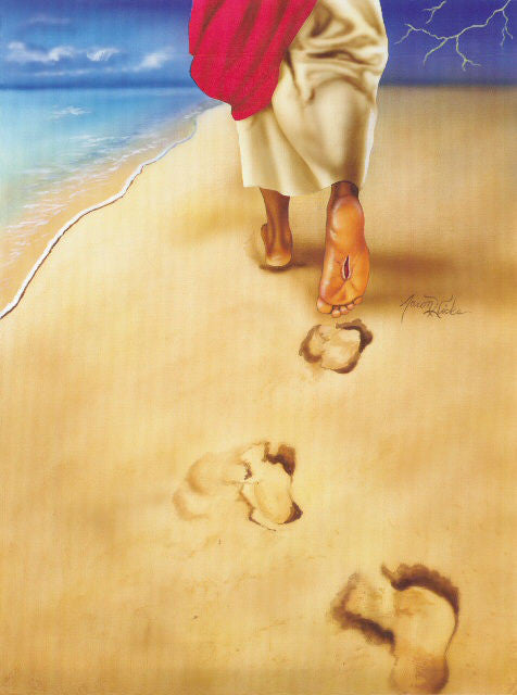 Footprints in the Sand by Aaron and Alan Hicks
