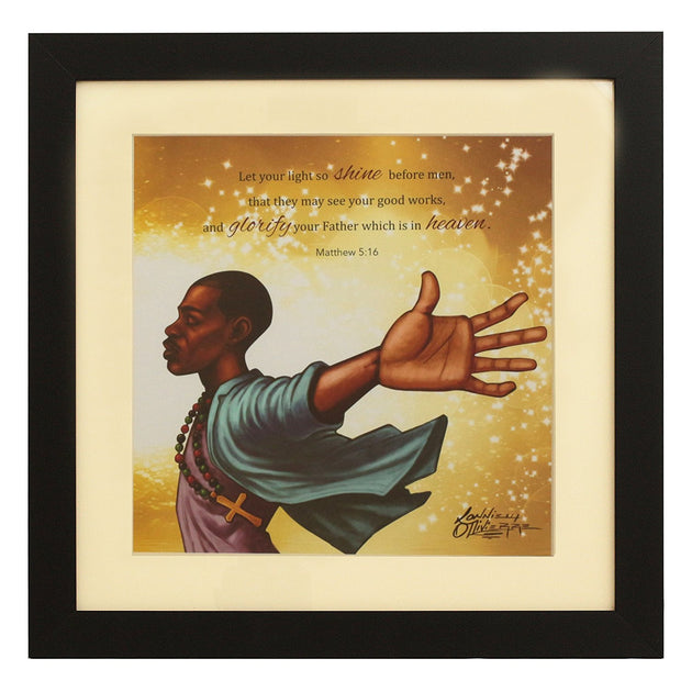 Let Your Light Shine: The Power of Jesus by Lonnie Ollivierre | The Black  Art Depot