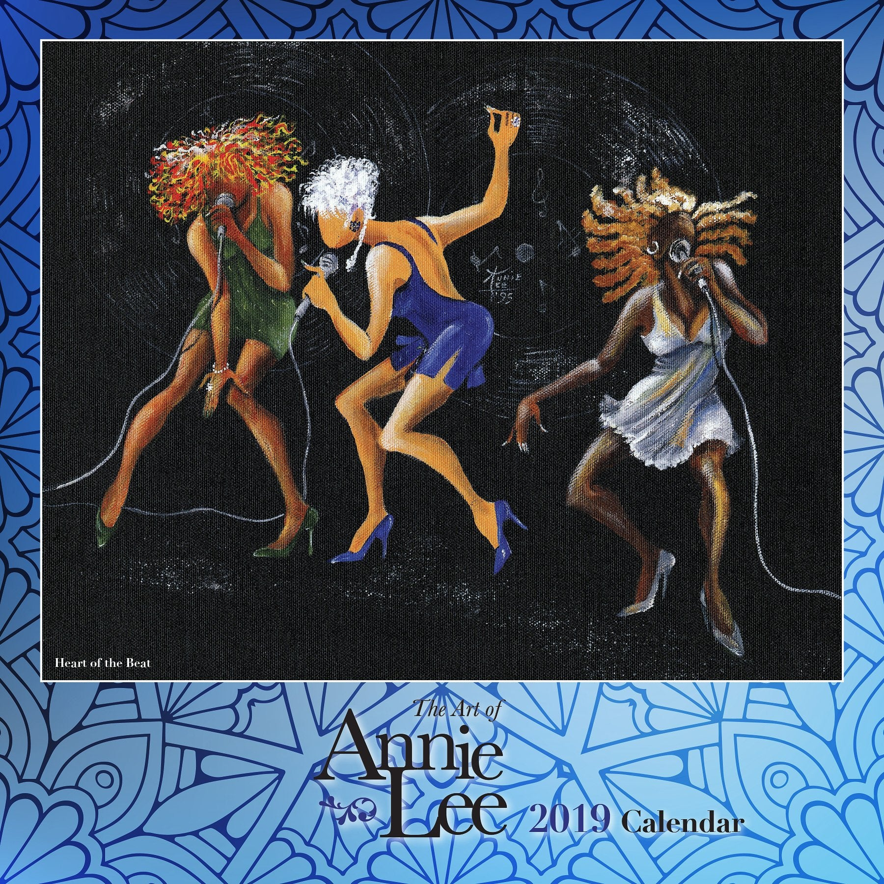 The Art of Annie Lee: 2019 African American Wall Calendar (Front)