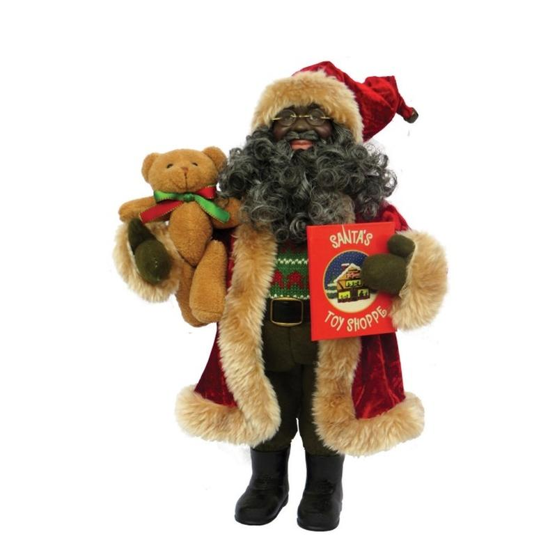 African American Story Time Santa Claus by Santa's Workshop