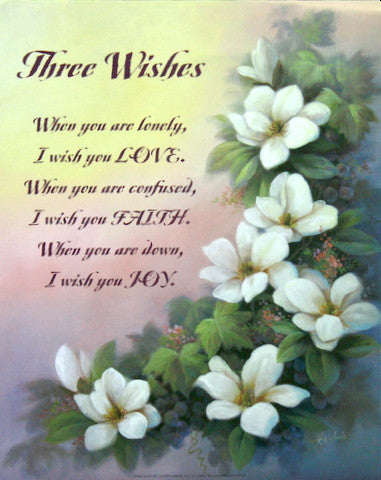 Three Wishes by T.C. Chiu
