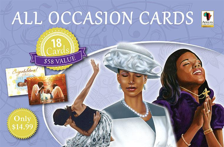 All Occasion African American Greeting Card Box Set by African American Expressions