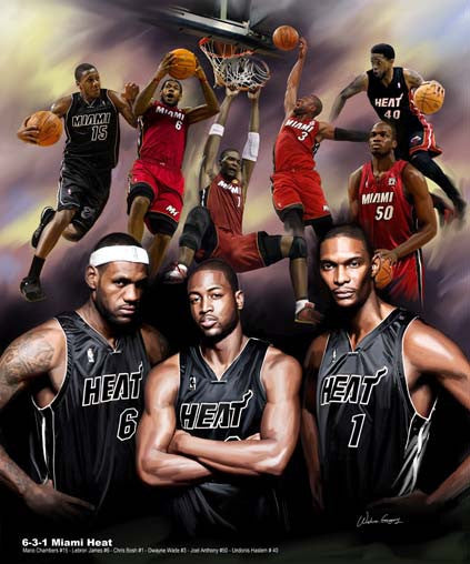 6-3-1: Miami Heat by Wishum Gregory