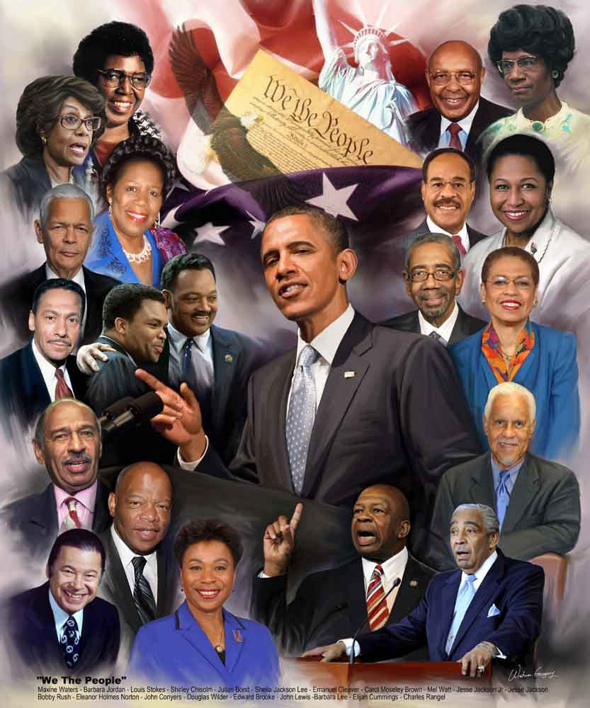 We The People (Black Politicians) by Wishum Gregory
