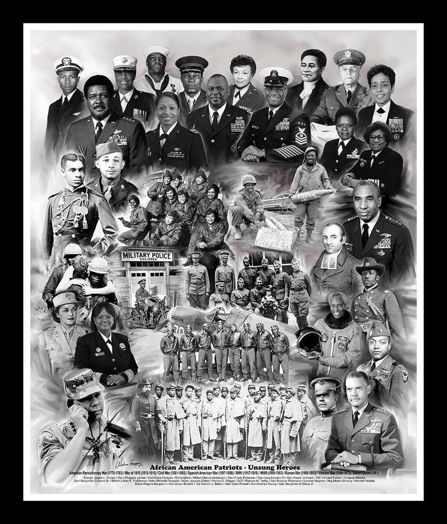 unsung heroes the black soldiers In the book, she writes about black men and women who stood out in the arts and  the military, and in science, education and religion.