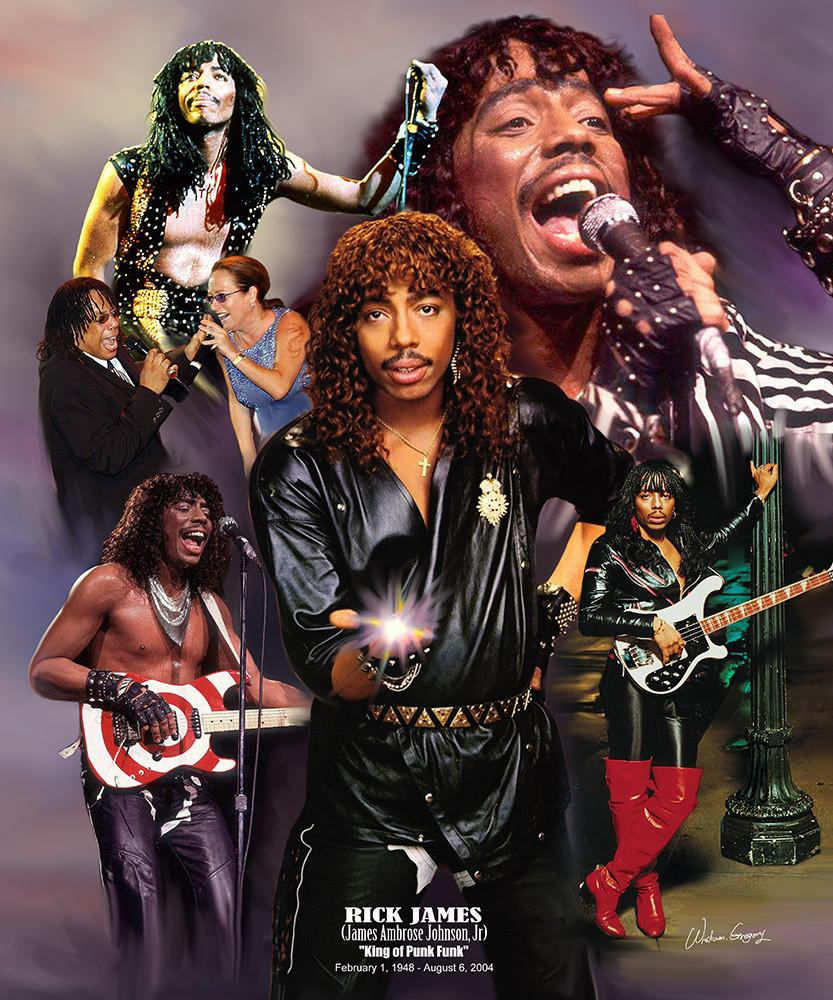 Rick James: King of Punk Funk by Wishum Gregory
