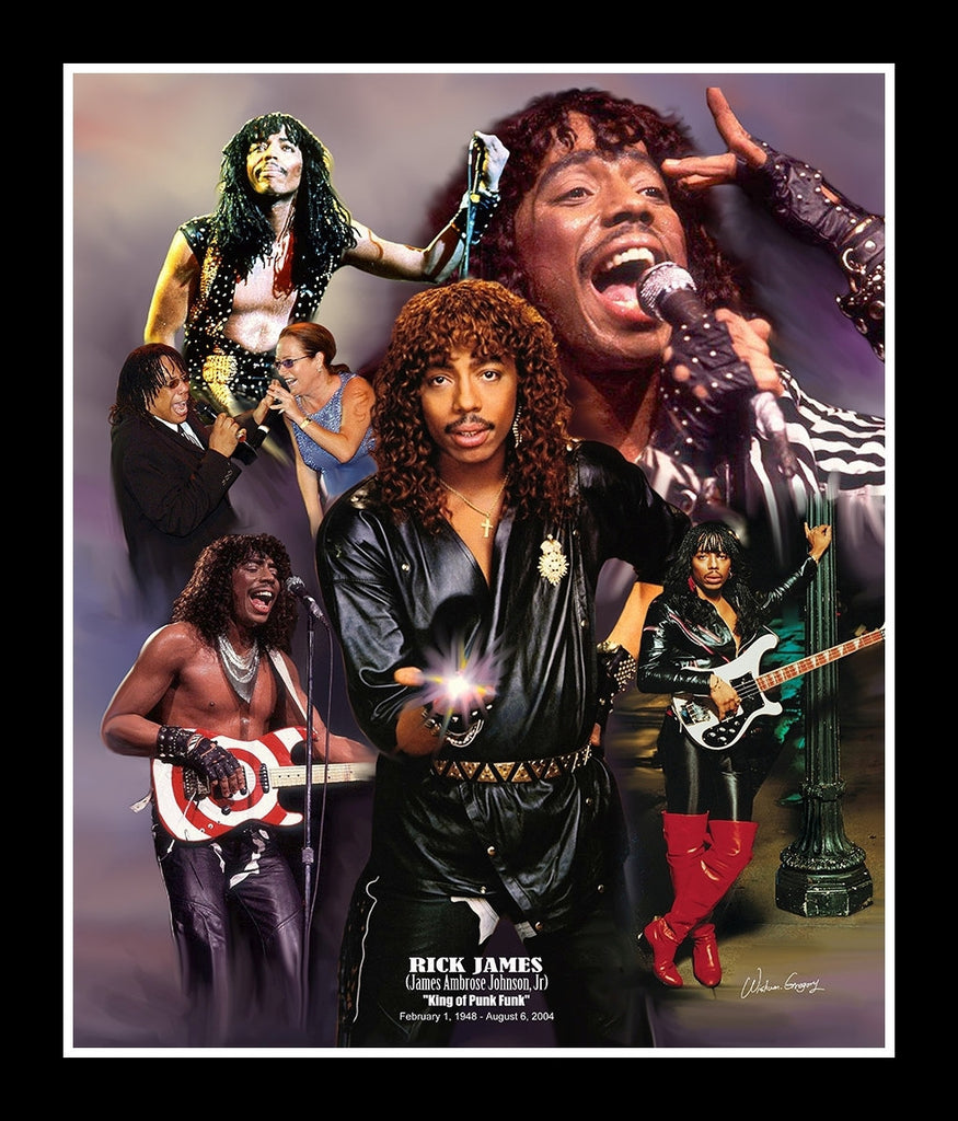 Rick James: King of Punk Funk by Wishum Gregory (Legends Series ...