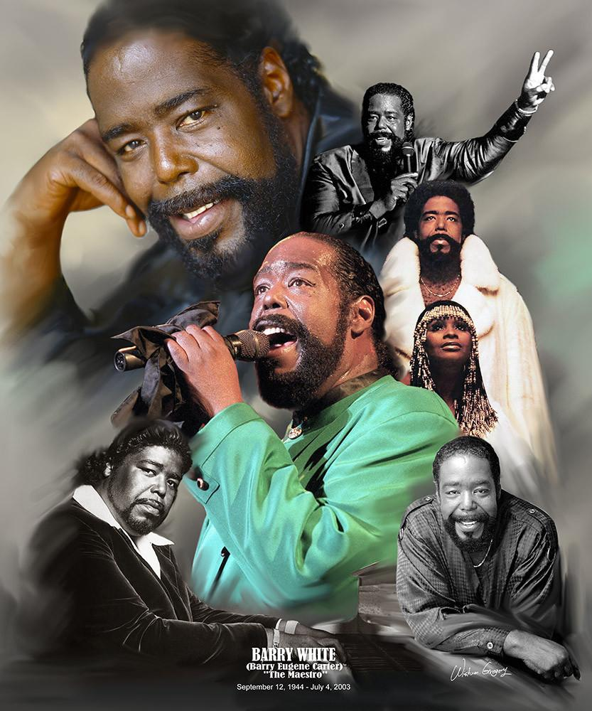 Barry White: The Maestro by Wishum Gregory