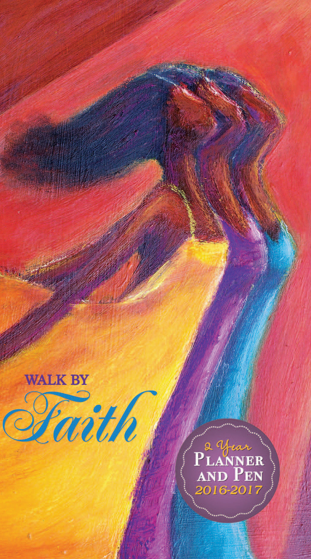 Walk By Faith 2016-2017 African American Checkbook Planner by Kerream Jones