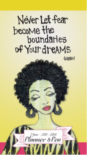 Your Dreams: 2017-2018 African American Checkbook Planner