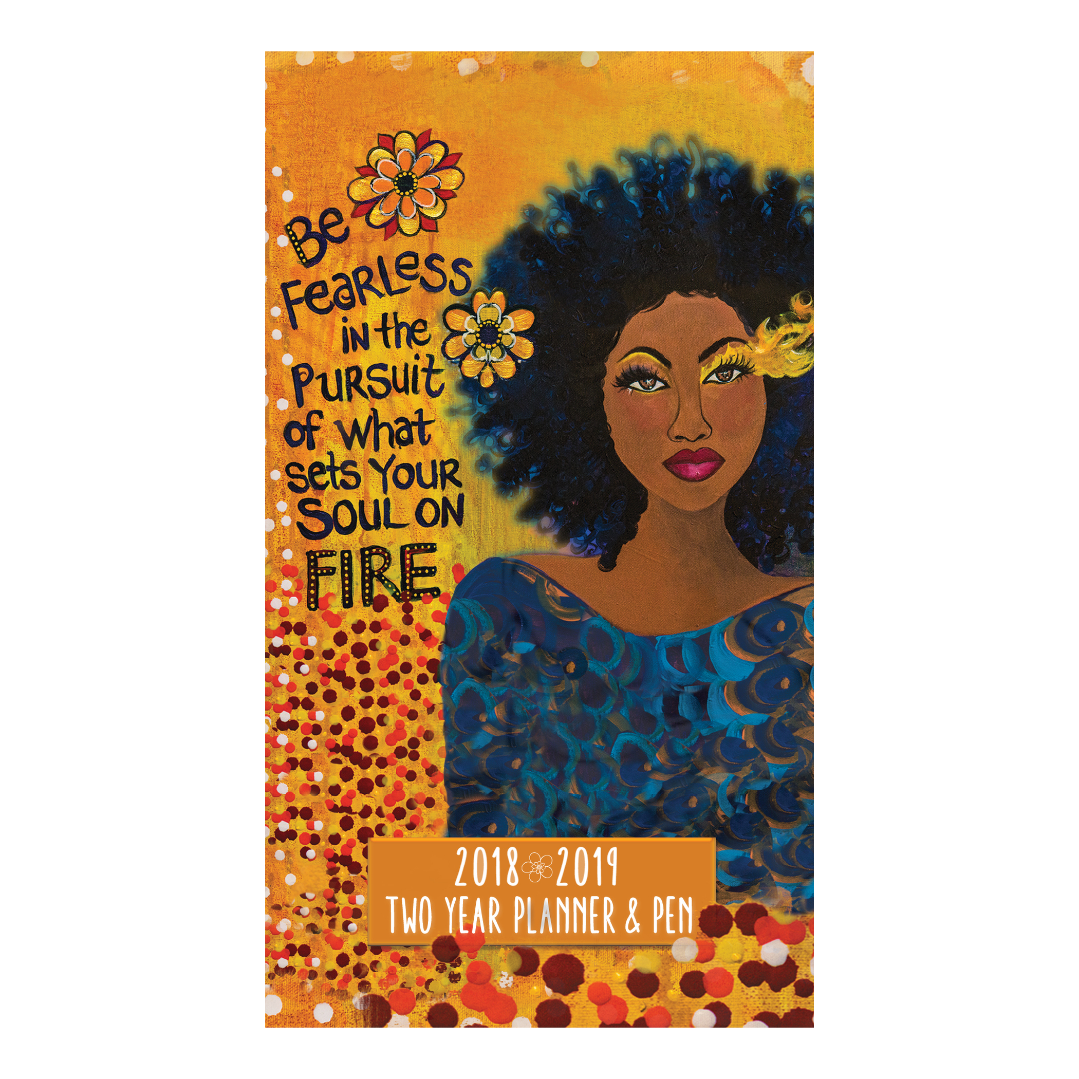 Be Fearless: 2018-2019 African American Checkbook Planner by GBaby
