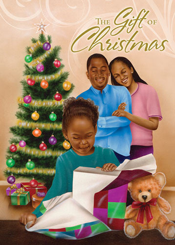 The Gift of Christmas: African American Christmas Card