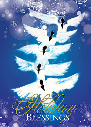 Angels (Holiday Blessings): African American Christmas Card