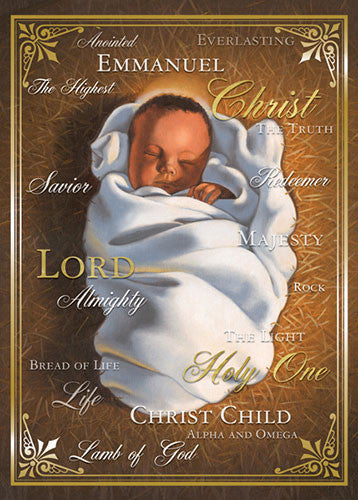 Names of Christ: African American Christmas Card