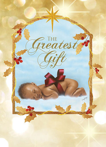 The Greatest Gift: African American Christmas Card