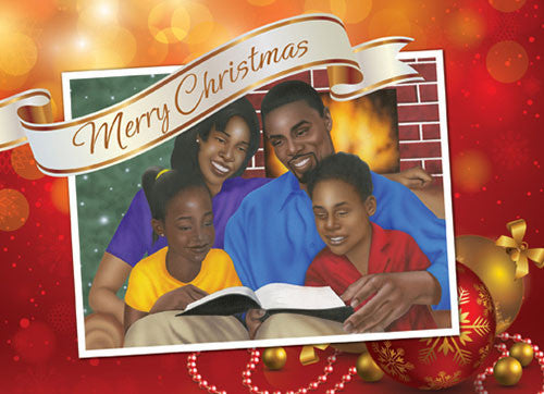 family christmas african american christmas card - Black Family Christmas Pictures