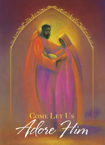 Let Us Adore Him: African American Christmas Card