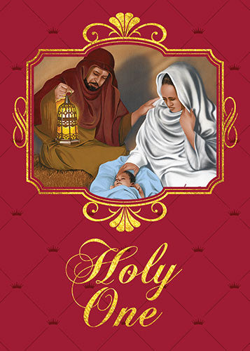 Holy One: African American Christmas Card