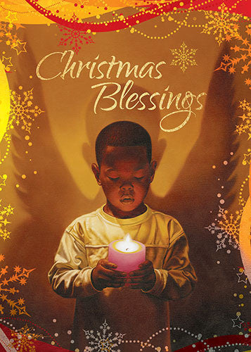 Christmas Blessings: African American Christmas Card (Box Set of ...