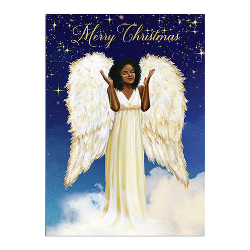 Merry Christmas: African American Christmas Card Box Set (C928)