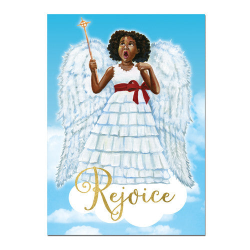 Little Angel (Rejoice): African American Christmas Card Box Set (C929)