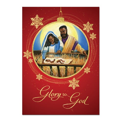 Glory to GOD: African American Christmas Card Box Set (C930)