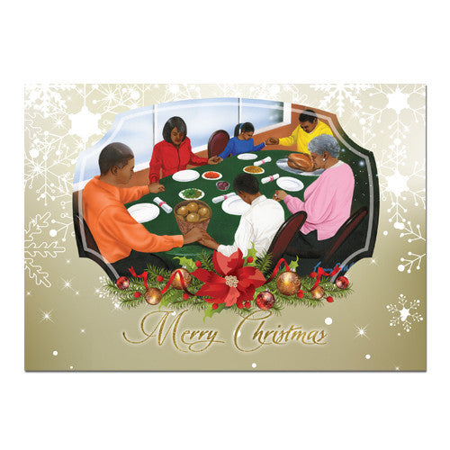 Merry Christmas: African American Christmas Card Box Set (C933)