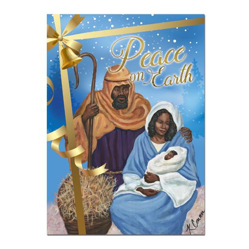 Peace on Earth: African American Christmas Card Box Set by AAE