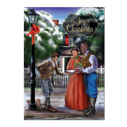 Joy of Christmas: African American Christmas Card Box Set by AAE