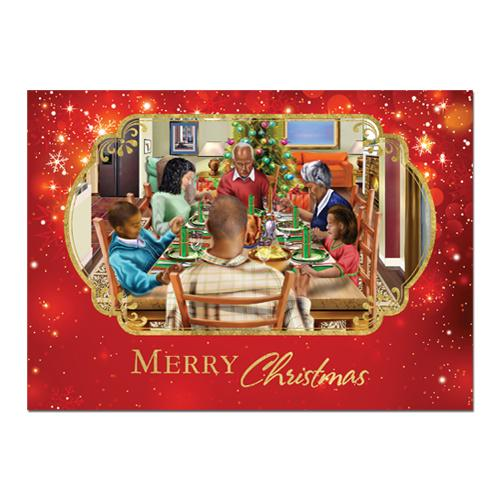 Holiday Dinner: African American Christmas Card Box Set