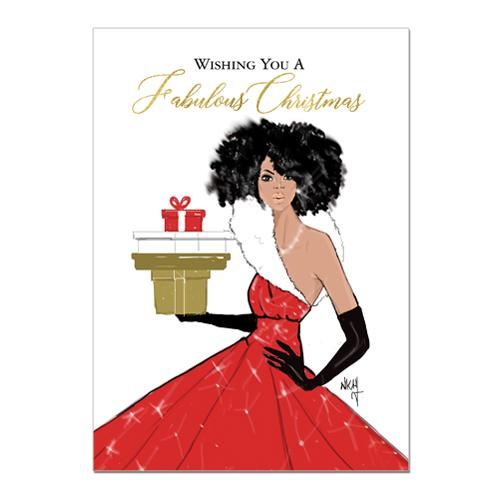 Fabulous Christmas: African American Christmas Card Box Set