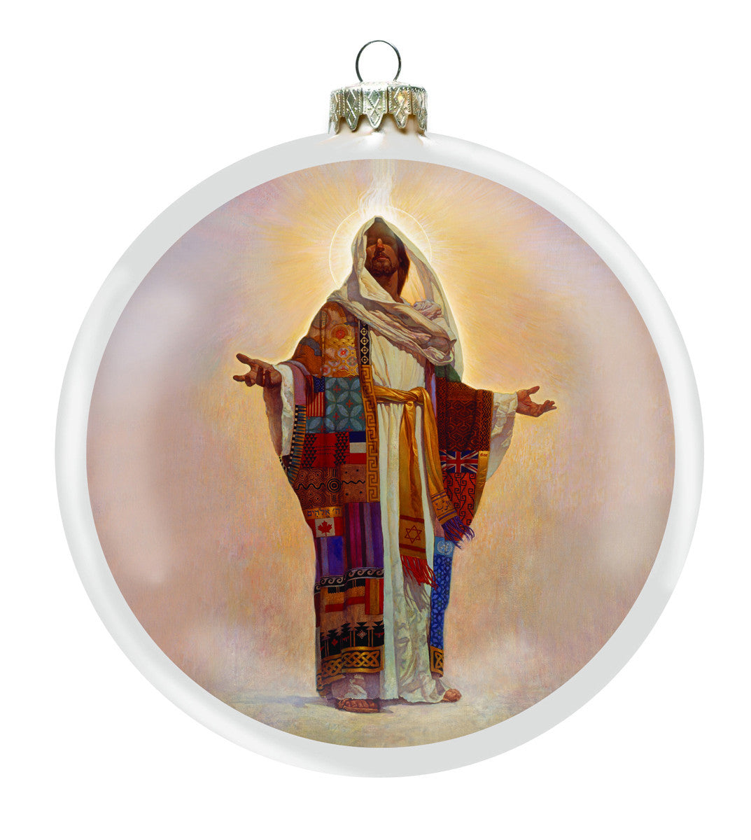 Coat of Many Colors Christmas Ornament by Thomas Blackshear (Front)