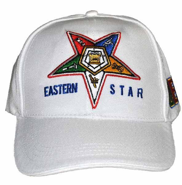 Order of the Eastern Star Adjustable Baseball Cap by Big Boy Headgear
