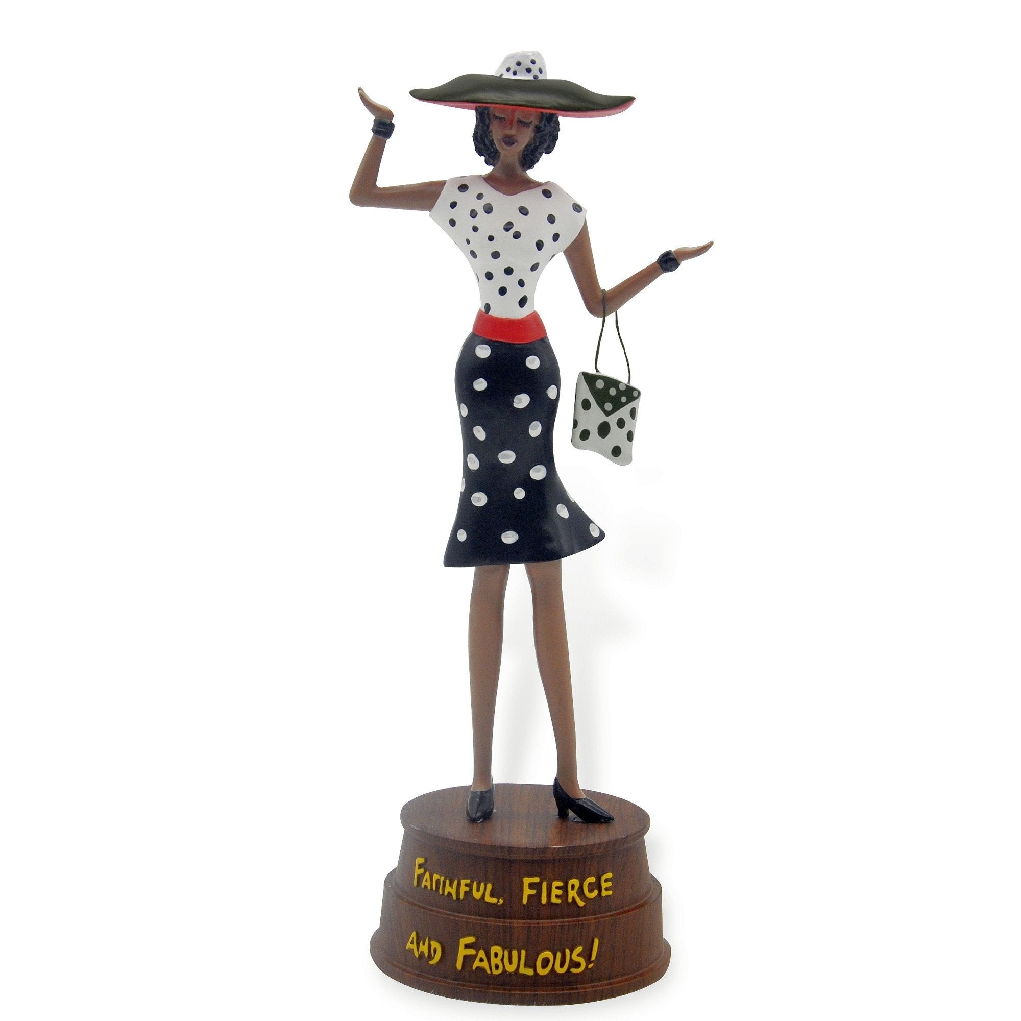 Faithful, Fierce and Fabulous: Cidne Wallace Figurine by Shades of Color